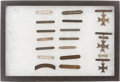 Military & Patriotic:WWII, Lot of Seventeen Shooting Badges, Circa 1919-1945....