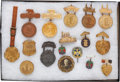 Military & Patriotic:WWI, Fabulous Lot of 17 Souvenirs From the Great White Fleet and AdmiralRobley D. Evans, Circa 1908....