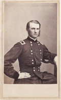 Military & Patriotic:Civil War, Carte de Visite Brigadier General Thomas Edward Greenfield Ransom, Illinois 11th Infantry....