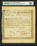 Colonial Notes:Massachusetts , Massachusetts Bay State 6% Interest Treasury Certificates 1777,1778 Anderson MA-8 (2), MA-10 . ... (Total: 3 notes)