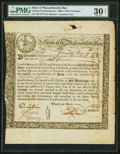 Colonial Notes:Massachusetts , Massachusetts Bay State 6% Interest Treasury Certificates 1777,1778 Anderson MA-8 (2), MA-10. ... (Total: 3 notes)