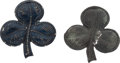 Military & Patriotic:Civil War, Pair of Civil War Second Corps Badges, One Dug Near Petersburg, Virginia....