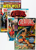 Bronze Age (1970-1979):Horror, Creatures on the Loose Group (Marvel, 1971-75) Condition: AverageFN.... (Total: 23 Comic Books)