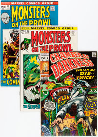 Monsters on the Prowl Plus Group (Marvel, 1970-74) Condition: Average NM-.... (Total: 6 Comic Books)