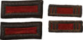 Military & Patriotic:Civil War, Two Pairs of Civil War Artillery Officer's Shoulder Straps.... (Total: 2 )