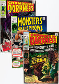 Bronze Age (1970-1979):Horror, Monsters on the Prowl/Chamber of Darkness Group (Marvel, 1969-73)Condition: VG/FN.... (Total: 20 Comic Books)