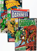 Bronze Age (1970-1979):Horror, Monsters on the Prowl/Chamber of Darkness Group (Marvel, 1970-74)Condition: Average VF.... (Total: 14 Comic Books)