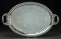 Other, A WEBSTER MFG. CO. SILVER-PLATED TRAY, North Attleboro,Massachusetts. Marks: WEBSTER MFG. CO, NY. 1 x 33-1/2 x20-1/4 i...
