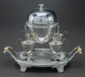 Other:European, A WALKER & HALL SILVER-PLATED EGG CODDLER WITH CUPS, Sheffield,England, circa 1885-1905. Marks: (W&H within flag), (lota), ...(Total: 3 Items)