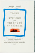Books:Fine Press & Book Arts, [Limited Editions Club] Robert Shore, illustrator. SIGNED. JosephConrad. Youth Typhoon and The End of the Tethe...