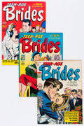 Golden Age (1938-1955):Romance, Teen-Age Brides/True Bride's Experiences/True Bride-To-Be Romances#2-29 Near Complete Range File Copy Group (Harvey, 1953-58)...(Total: 27 Comic Books)