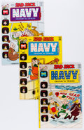 Bronze Age (1970-1979):Humor, Sad Sack Navy Gobs and Gals/Sad Sack with Sarge and Sadie File CopyGroup (Harvey, 1972-73) Condition: Average NM-.... (Total: 48 ComicBooks)