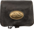 Military & Patriotic:Civil War, Excellent Civil War Pattern 1861 Cartridge Box....