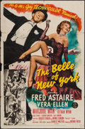 """Movie Posters:Musical, The Belle of New York (MGM, 1952). One Sheet (27"""" X 41""""). Musical.. ..."""