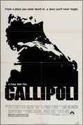 "Movie Posters:War, Gallipoli (Paramount, 1981). One Sheet (27"" X 41""). War.. ..."