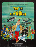 """Movie Posters:Animation, Tintin and the Lake of Sharks (United Artists, 1972). French Grande(45.5"""" X 60""""). Animation.. ..."""