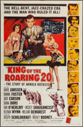 """Movie Posters:Drama, King of the Roaring 20's (Allied Artists, 1961). One Sheet (27"""" X 41""""). Drama.. ..."""