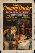 "Movie Posters:Drama, The Country Doctor (Pathé, 1927). One Sheet (27"" X 41"") Style A.Drama.. ..."