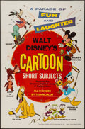 "Movie Posters:Animation, Disney Cartoon Short Subjects Stock (Buena Vista, 1965). One Sheet(27"" X 41""). Animation.. ..."