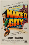 "Movie Posters:Crime, Naked City (Universal International, 1948). One Sheet (27"" X 41"").Crime.. ..."