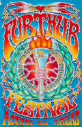 Music Memorabilia:Original Art, Grateful Dead - Furthur Festival Access Pass Original Art by MikeSchulman (1996)....
