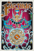 Music Memorabilia:Original Art, Grateful Dead - Furthur Festival Access Pass Original Art by Mike Schulman (1997)....