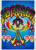 Music Memorabilia:Original Art, Grateful Dead - Furthur Festival Access Pass Original Art by MikeSchulman (1998).. ...