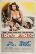 "Movie Posters:Drama, Bhowani Junction (MGM, 1956). One Sheet (28"" X 41""). Drama.. ..."