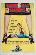 "Movie Posters:Bad Girl, Three Bad Sisters (United Artists, 1956). One Sheet (27"" X 41""). Bad Girl.. ..."