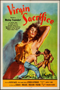 "Movie Posters:Adventure, Virgin Sacrifice (Releasing Corporation of Independent Producers,1959). One Sheet (27"" X 41""). Adventure.. ..."