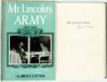 Books:Americana & American History, Bruce Catton. SIGNED. Mr. Lincoln's Army. Garden City:Doubleday & Company, [1951]. Octavo. Signed by the author o...