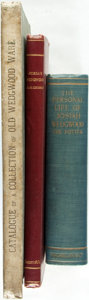 Books:Biography & Memoir, [Wedgwood Pottery]. Group of Three Books on Josiah Wedgwood/Wedgwood Pottery. Various publishers and dates. Publisher's bind... (Total: 3 Items)