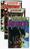 Bronze Age (1970-1979):Horror, House of Mystery Group (DC, 1968-77) Condition: Average VG....(Total: 16 Comic Books)