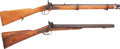 Long Guns:Muzzle loading, Lot of Two Percussion Long Guns.... (Total: 2 Items)