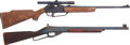 Long Guns:Other, Lot of Two Daisy BB Air Rifles.... (Total: 2 Items)