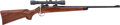 Long Guns:Bolt Action, Winchester Bolt Action Rifle with Telescopic Sight....