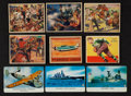 Non-Sport Cards:Lots, 1930's-1950's Mixed Theme Non-Sports/Football Card Collection (79)....