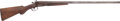 "Long Guns:Other, Belgian Double Barrel Hammer Gun Marked ""KING ARMS."" ..."