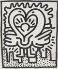 Fine Art - Work on Paper:Print, KEITH HARING (American, 1958-1990). Untitled No. 187(Kutztown Connection benefit concert poster), 1984. Offsetlithogra...