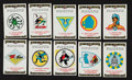 "Non-Sport Cards:Sets, 1938 R17-2 Switzer's Licorice ""Army Air Corps Insignia"" CompleteSet (100). ..."