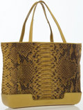 Autographs:Bats, Bottega Veneta Green Python Tote Bag...