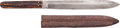 Edged Weapons:Knives, Early 20th Century Bowie Knife by Read & Elvidge, London....