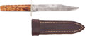 Edged Weapons:Knives, Bowie Knife by Joseph Rogers & Sons....