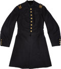 Military & Patriotic:Civil War, Civil War Infantry Captain's Frock Coat and Signal Equipments of Captain Israel Thickstun Co H, 83rd Pa Vols, Acting Signal Of...
