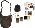Military & Patriotic:Civil War, Kepi, Haversack & Photograph Grouping Identified to William F. Miller Company E, 15th Mass Infantry...