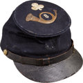 Military & Patriotic:Civil War, Outstanding 8th Ohio Volunteer Infantry Forage Cap with 2nd Division 2nd Corps Badge. ...
