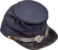 Military & Patriotic:Civil War, Great Union Forage Cap with Original 3rd Division 14th Corps Badge ...