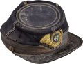 Military & Patriotic:Indian Wars, 47th New York Infantry Officer's Kepi...