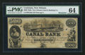 Obsoletes By State:Louisiana, New Orleans, LA - New Orleans Canal & Banking Co. $500 18__ G70a Remainder. ...