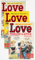 Golden Age (1938-1955):Romance, True Love Problems and Advice Illustrated File Copy Group (Harvey,1949-58) Condition: Average VF.... (Total: 48 Comic Books)